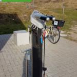 Radservicestation auf Langeoog, Foto: A.Dalig